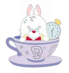 Alice in Wonderland Mystery Pin Set