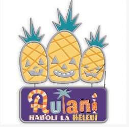 Aulani Resort Halloween Pineapple Jack-O-Lanterns