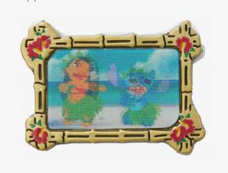Lilo & Stitch Dance Lenticular from Hot Topic