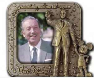 Walt Disney Framed