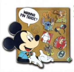 Wanna Pin Trade? Mickey Pin Collecting pin