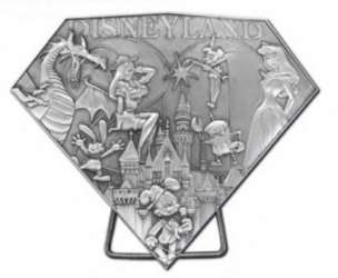 Disneyland Resort Edition Jumbo Sculpted Pin