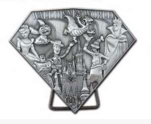 Disney World Resort Edition Jumbo Sculpted Pin