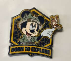 Minnie Mouse Born to Explore only