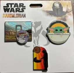 Star Wars: The Mandalorian Booster Pin Set
