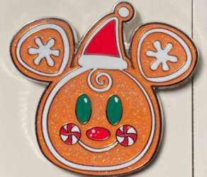 Gingerbread Mickey Mouse Cookie