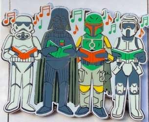Stormtroopers, Darth Vadar and Boba Fett