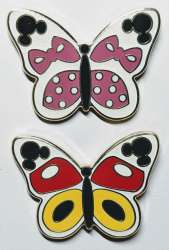 Minnie and Mickey Butterflies