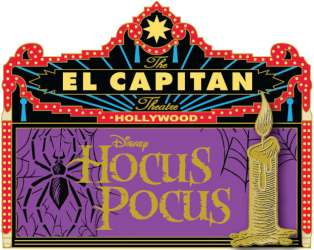 Hocus Pocus Marquee, Candle and Spider Web