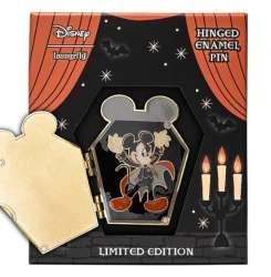 Halloween Mickey Mouse Loungefly Hinged Pin