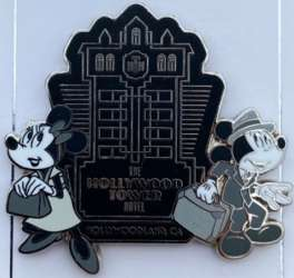 Micky and Minnie Mouse in Black and White