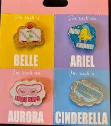 I'm such a Belle, Ariel, Aurora and Cinderella