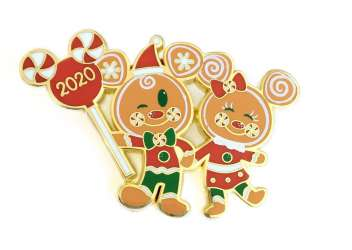 Holiday Cheer Collection - Gingerbread Mickey & Minnie