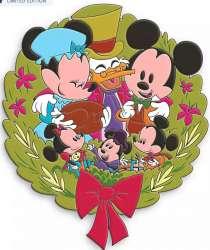 D23 Mickey's Christmas Carol Wreath