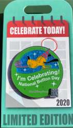 I'm Celebrating National Button Day- Pluto