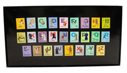 Alphabet Artist Series Set