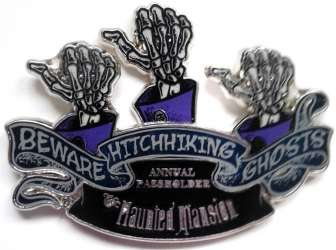 Disney Parks - Haunted Mansion - Hitchhiking Ghosts AP
