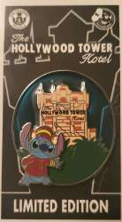 Stitch The Hollywood Tower Hotel/ Tower of Terror Bellhop (Passholder Exclusive)