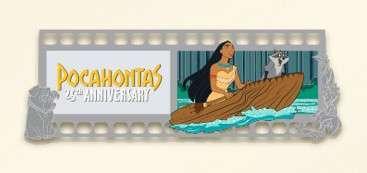 Pocahontas 25th Anniversary Gold Frame
