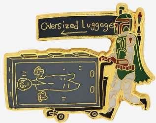 Boba Fett with Han Luggage