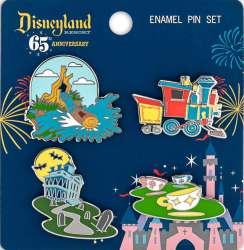 Disneyland Park 65th Anniversary Loungefly Booster
