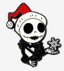 Nightmare Before Christmas Jack Skellington & Zero pin set - Jack Only