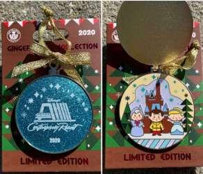 2020 Gingerbread Ornament Pin