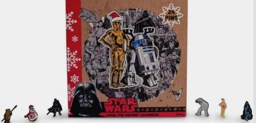 Star Wars Enamel Pins Advent Calendar
