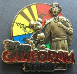 Disney California Story Guided Tour 2020 Assorted Pins