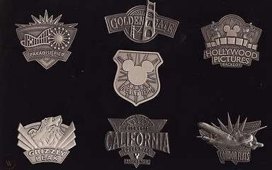 Team Cast Member Pewter Pin Set