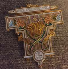 Grand Californian Hotel Stained Glass Pin
