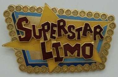 Superstar Limo Logo Sign Pin