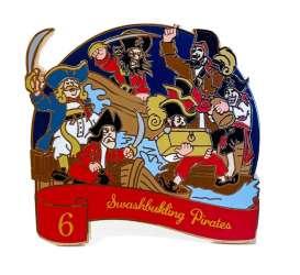 6 Swashbuckling Pirates