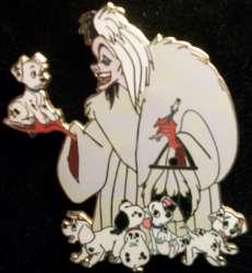 Cruella with Puppies