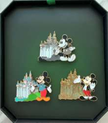 Disneyland Through The Years Castle Collection Box Set
