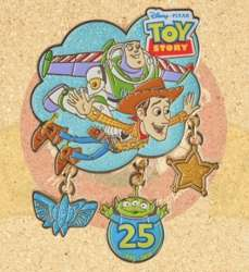 Woody and Buzz Flying