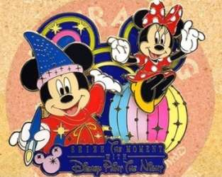 Sorcerer Mickey and Minnie