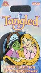 Rapunzel and Pascal