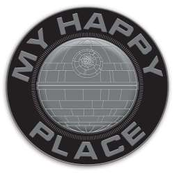Death Star My Happy Place