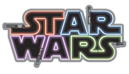 Star Wars Lightsaber Logo