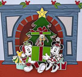 Holiday Mickey & Minnie Mouse