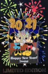 Happy New Year 2021 - Mickey & Minnie