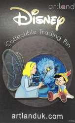 Blue Fairy & Pinocchio Jumbo