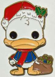 Donald Duck with Presents