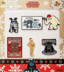 Star Wars Holidays Pin Set