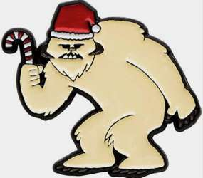 Wampa with Santa Hat