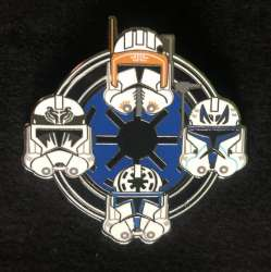 Captain Rex, Cody, Jesse, and Clone Trooper