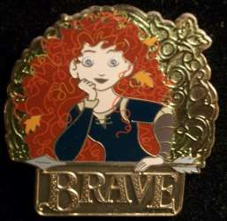 Merida with Brave Logo
