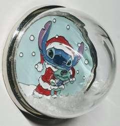 Stitch Christmas Snow Globe