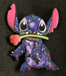 Beauty and the Beast Stitch with Rose